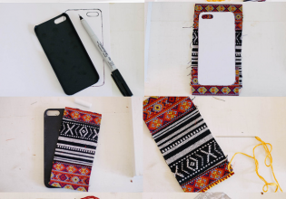 Tapestry iPhone Case DIY Steps