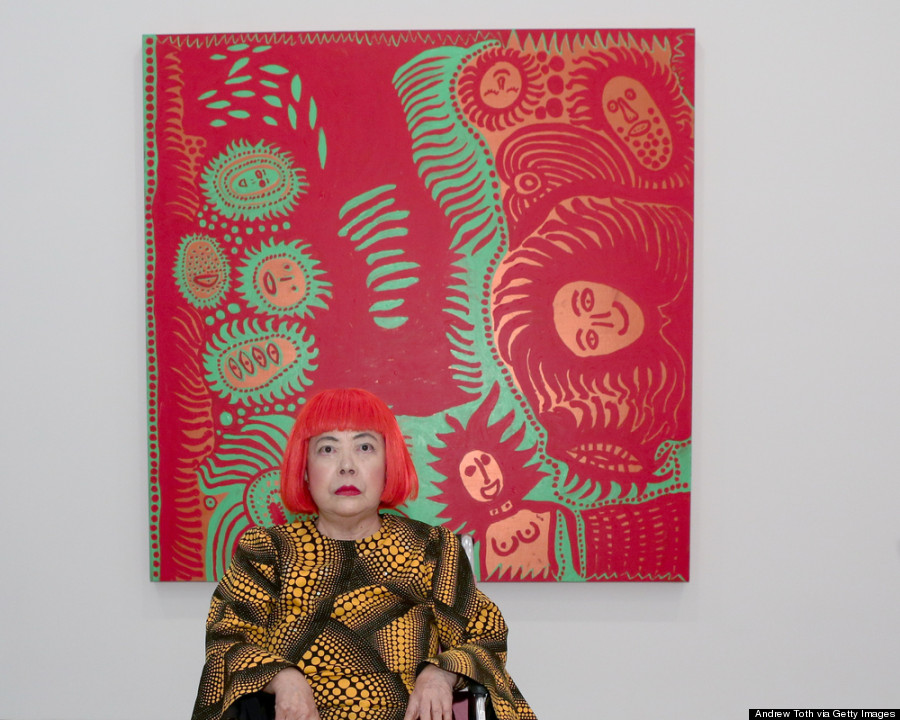 "Yayoi Kusama ""I Who Have Arrived In Heaven"" Exhibition - Press Preview"