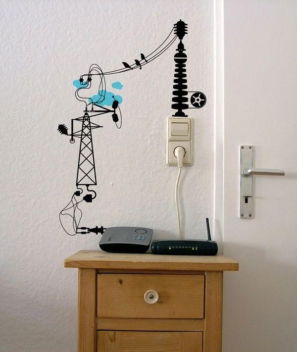 20-Simple-and-Ingenious-DIY-Projects-That-Will-Hide-Your-Wires-Into-Wall-Art-Ideas-to-Hide-Wires-homesthetics-decor-15