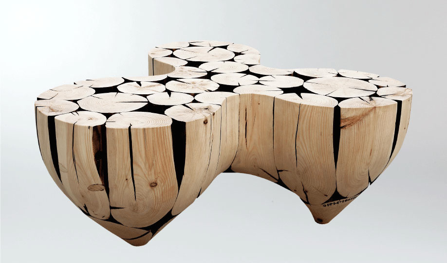 3-Pointed-Table-by-Jaehyo-Lee-from-Logs