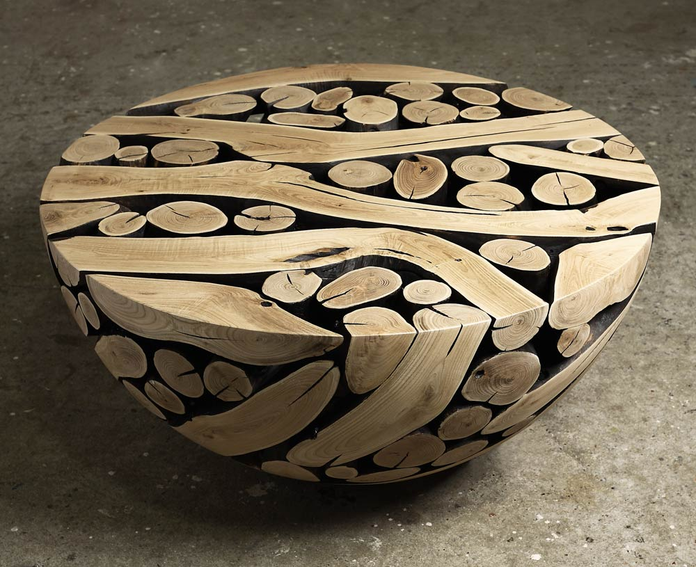 Coffee-Table-by-Jaehyo-Lee-with-Cross-Sectional-Logs
